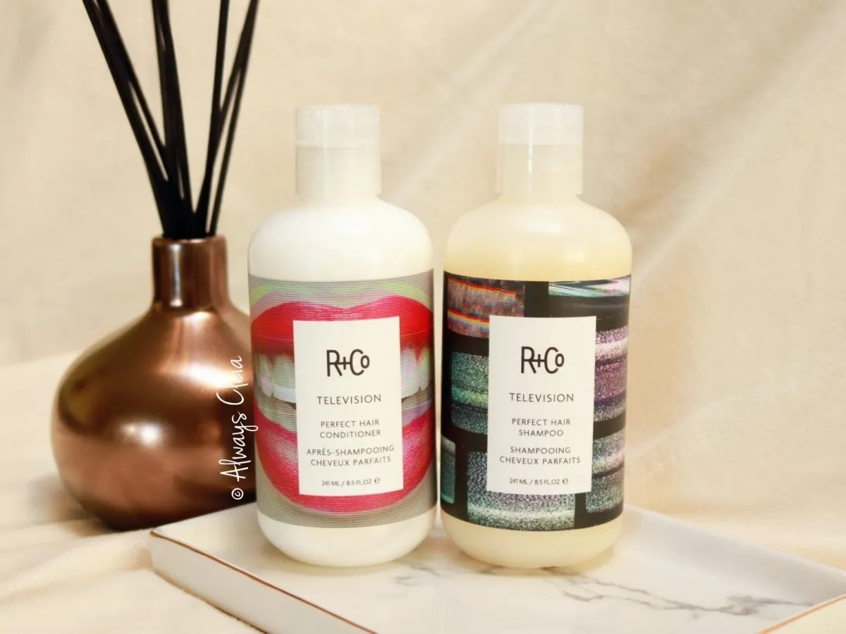 R & Co Television Perfect Hair Shampoo & Conditioner