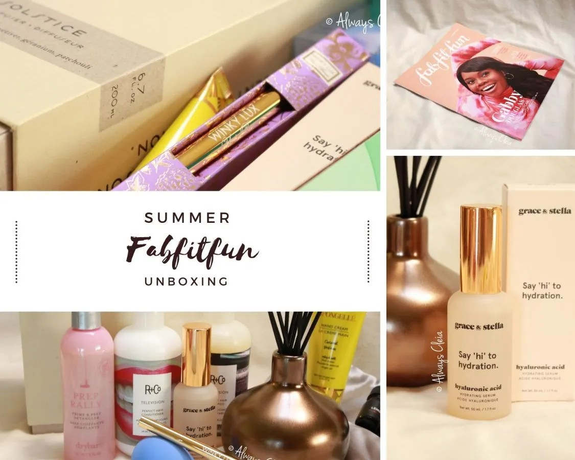 FabFitFun Summer Box 2020 Review