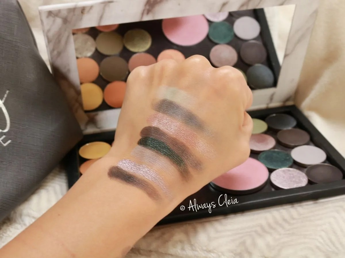 Sydney Grace Cosmetics Cool Toned Shadows
