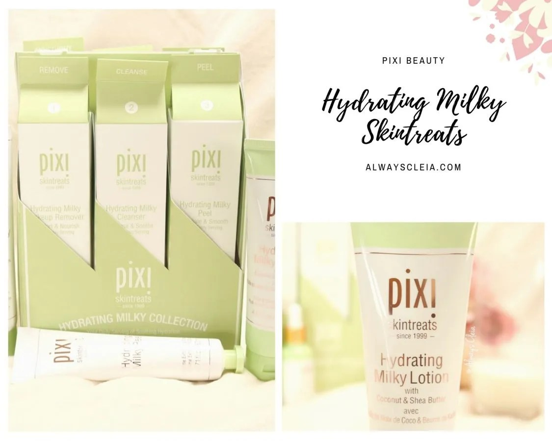 Pixi Beauty Hydrating Milky Skintreats Review