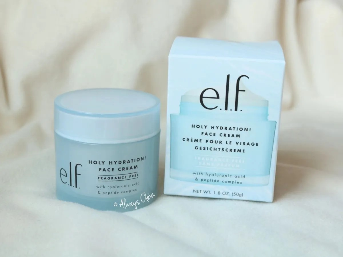 Holy Hydration Face Cream by ELF