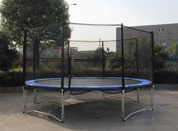 Nsw Pickup 14 Feet Foot Outdoor Trampoline Enclosure Set Safety Net Ladder