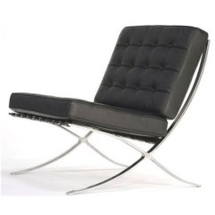 Dining Chair Pad Replacement Cheap Comfortable Chairs Barcelona Inspired Single Black Italian Leather A76sb | Home & Garden-australia ...