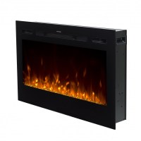 "36"" Black Built-in Recessed / Wall mounted Heater Electric ..."