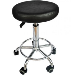 Dining Chair Pad Replacement Plus Stool Black Salon Hydraulic Adjustable Barber Tattoo Equipment