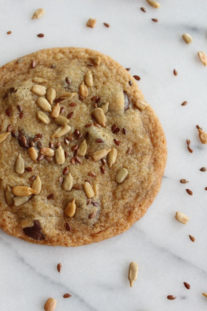 Seeded Dark Chocolate Chip Cookies