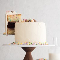 Funfetti Layer Cake from Scratch