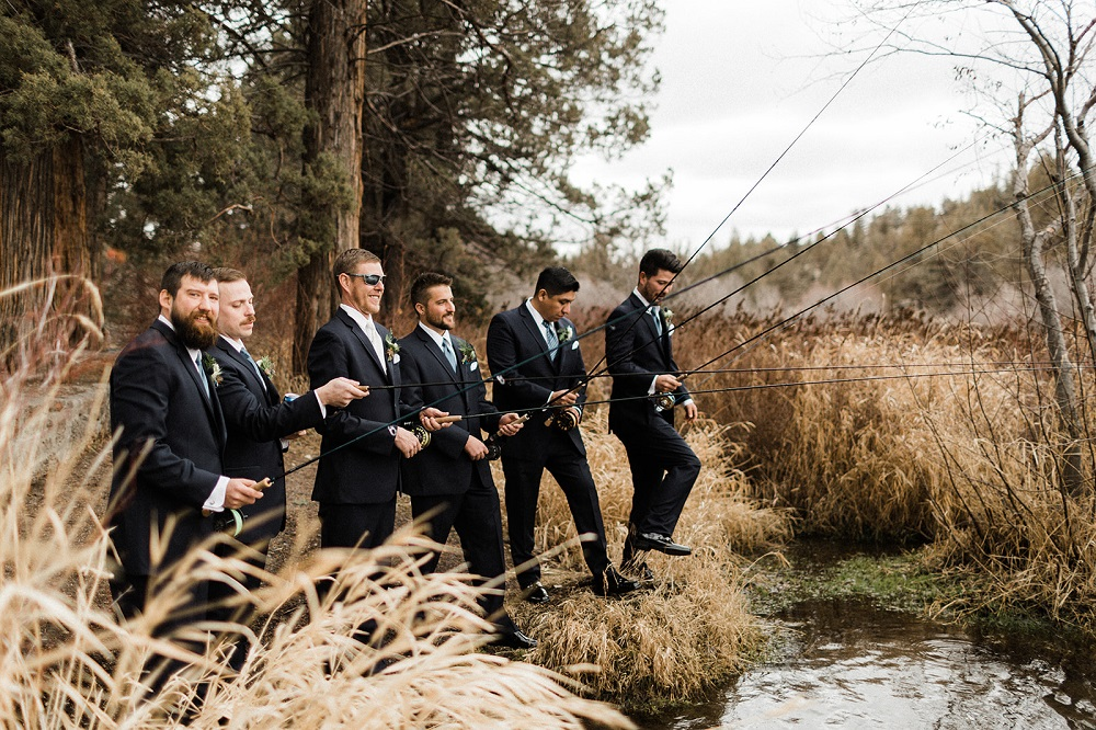 Fishing Groomsmen