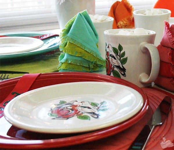 12 Days Of Christmas Styled Four Ways Fiesta Dinnerware Festive