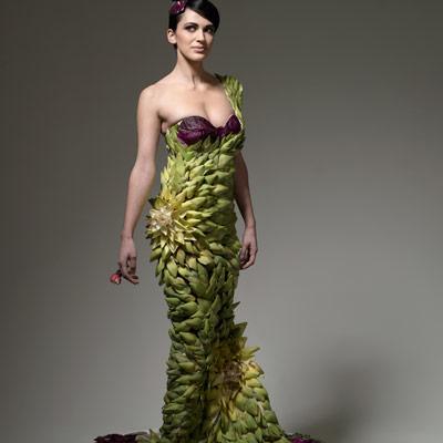 Artichoke heart gown