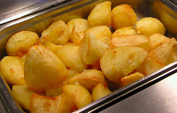 How to roast potatoes