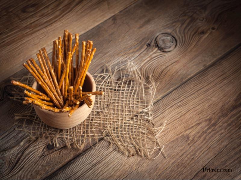 Magic Wants using pretzel sticks