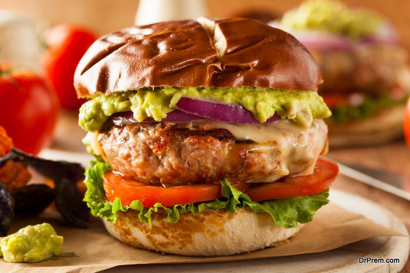 Turkey-burgers