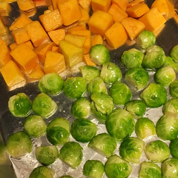 Brussels Sprouts Butternut Squash 01