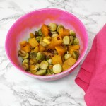 Maple Brussels Sprouts and Butternut Squash Recipe