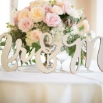 Mr and Mrs Sign Wedding Decor DIY