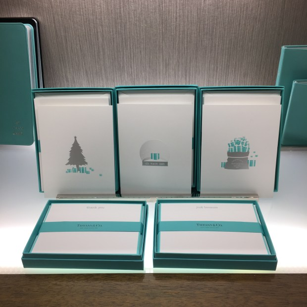 Tiffany Notecards