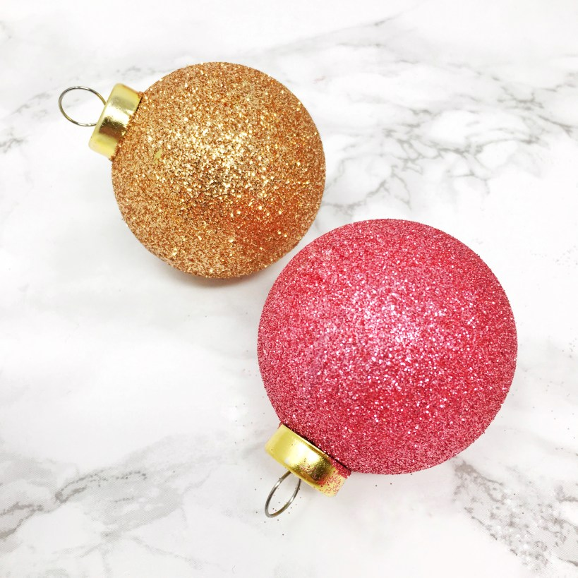 Glitter Christmas Ornaments 03