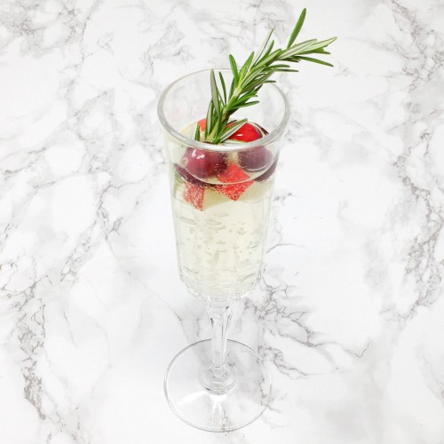 Rosemary Christmas Sangria