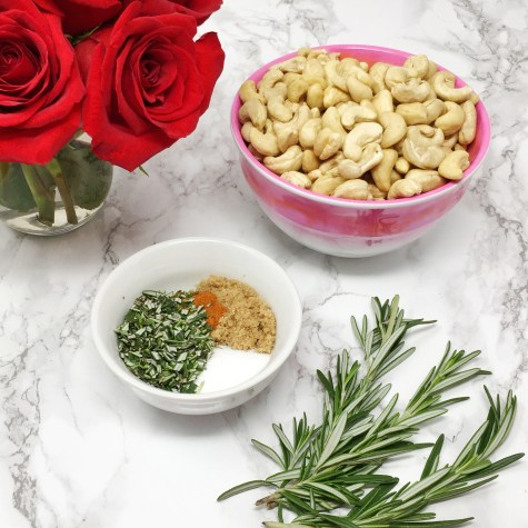 Rosemary Roasted Cashews