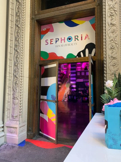 Sephoria Event Entrance