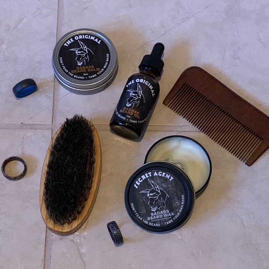 Gifts for him - Badass Beard Care products