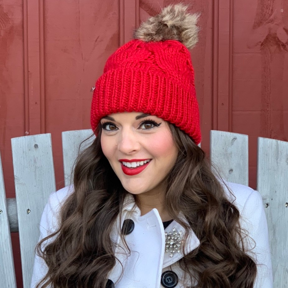 How To Wear Red For The Holidays - Red Accessories - Red Hat
