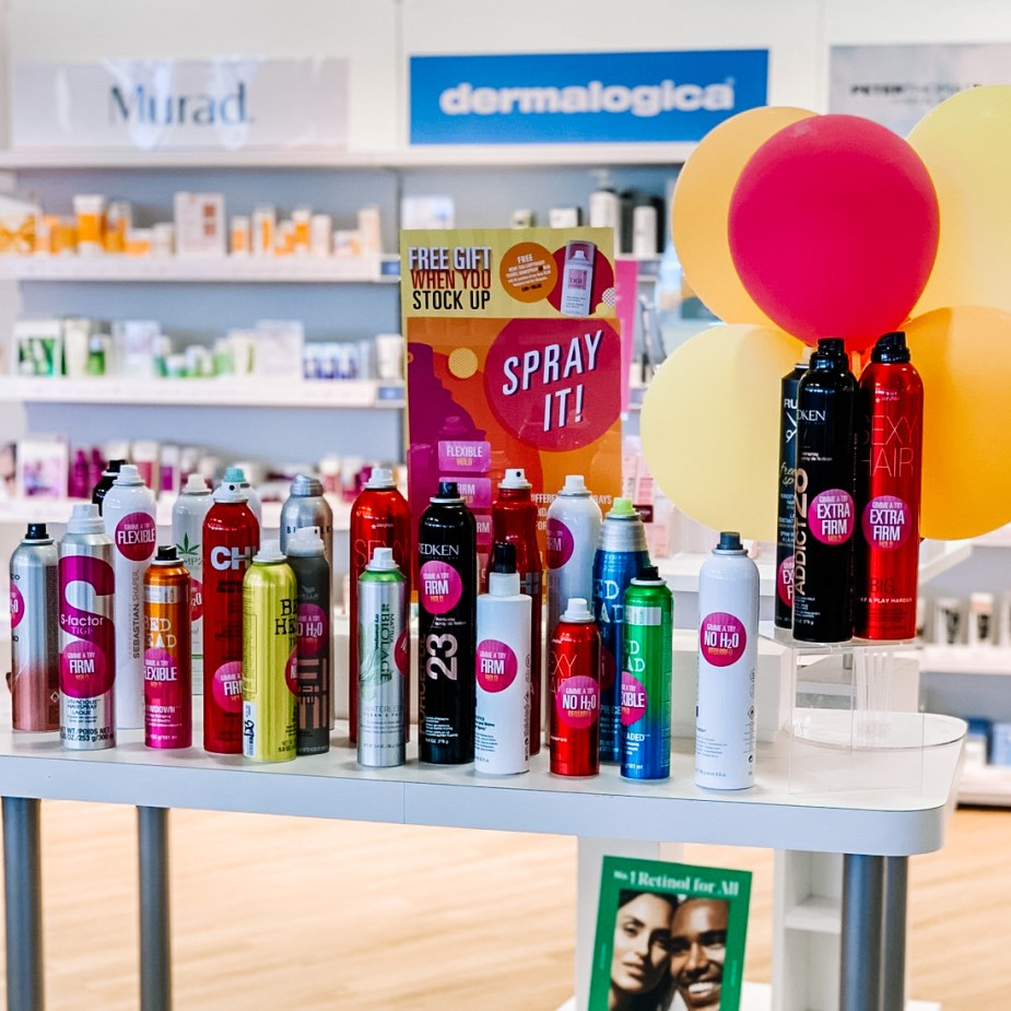 Beauty Brands Hairspray Sale and Dry Shampoo Sale $8.98