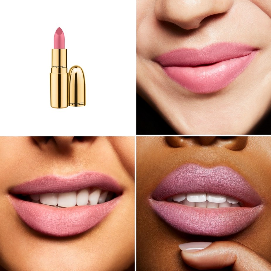 MAC Cosmetics Barbie Style MAC Makers Limited Edition Pink Lipstick swatches