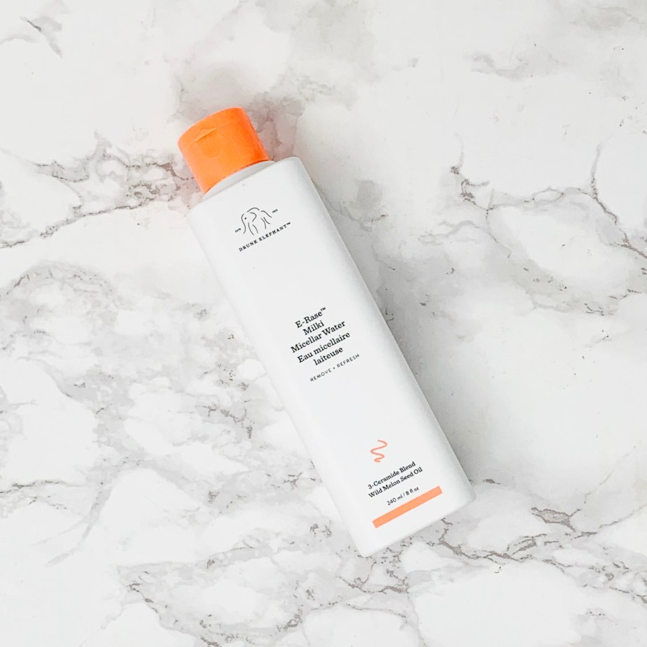 Drunk Elephant E-Rase Milky Micellar Water Review