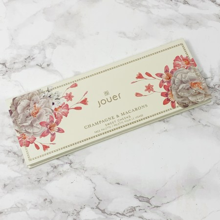 Jouer Champagne and Macarons Face Palette Sweet Cheeks