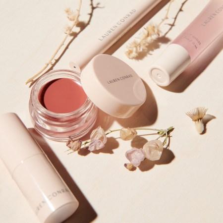 Lauren Conrad Beauty Line Preview lipstick, lip and cheek tint, lip gloss, eye liner