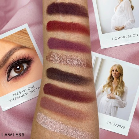 Lawless The Baby One Eyeshadow Palette Swatches