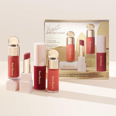 Rare Beauty Holiday Collection 2020 - Best of Rare Beauty Lip & Cheek 4 Piece Mini Set