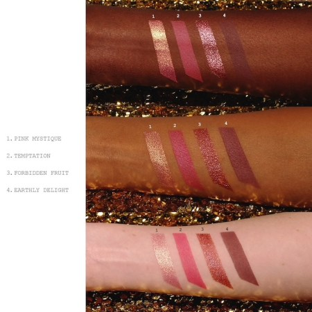 Pat McGrath Labs Divine Rose Luxe Quad Eternal Eden Eyeshadow Palette Swatches
