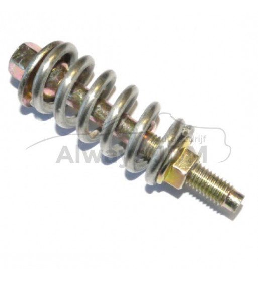 srs exhaust bolt spring and nut flexible connection flange