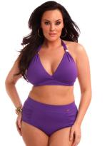 High waist bottoms look gorgeous in a pear shaped body
