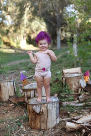 This is Willow, the girl with some of the most precious Halloween costumes we've ever seen. (2014)