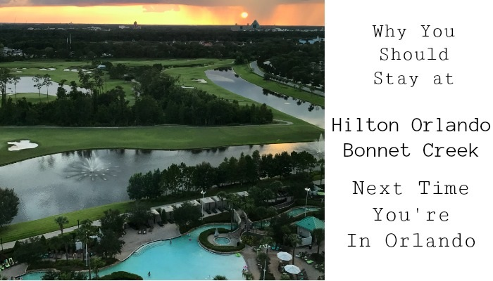 Hilton Bonnet Creek Orlando Review   Always Moving Mommy