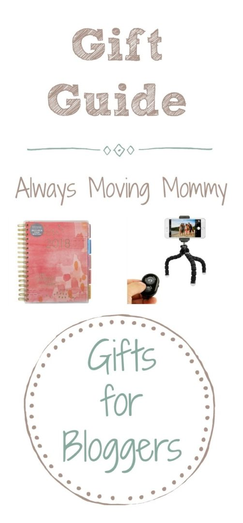 Guide Guide: Gift Ideas for Bloggers | Always Moving Mommy | Use this list to help you find the perfect gift for your blogging friend