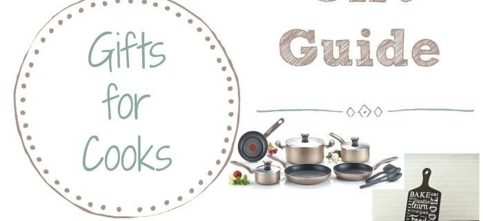 Gift Guide: Gift Ideas for Cooks | Always Moving Mommy | This gift guide has lots of practical gift ideas for that cook in your life