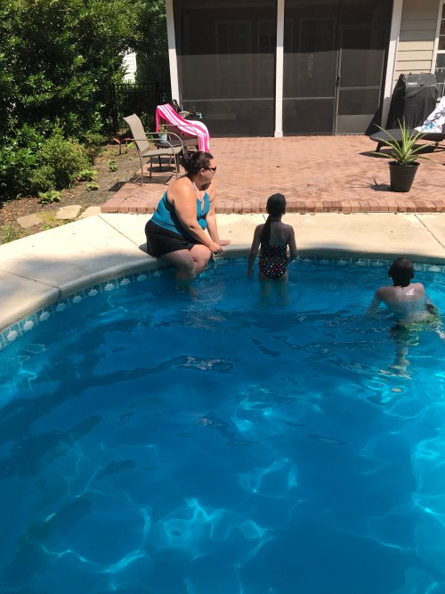 Just Wear the Suit! Mom Needs to Get In on Summer Fun Too | AlwaysMovingMommy.com | Don't miss out on summer fun because you're not comfortable in your bathing suit.