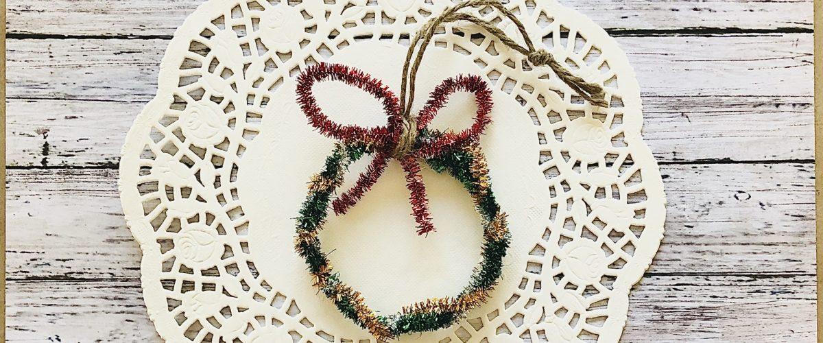 DIY Wreath Ornament Craft