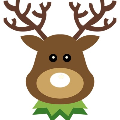 Free Printable Pin the Nose on Rudolph Christmas Game