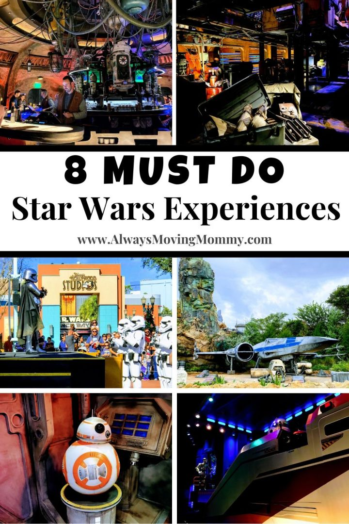 8 Must Do Star Wars Experiences at Walt Disney World | AlwaysMovingMommy.com