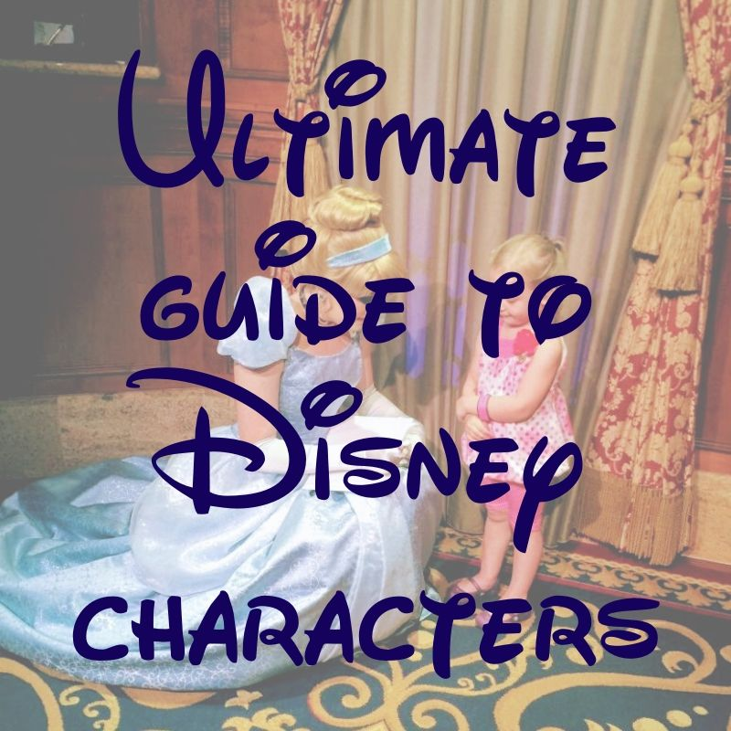 Ultimate Guide to Characters at Disney | AlwaysMovingMommy.com