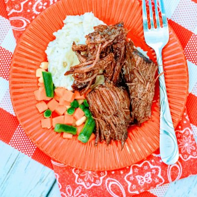 Slow Cooker Pot Roast Mississippi Style