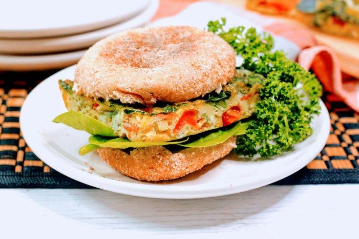 Healthy Spanish Egg Sandwich