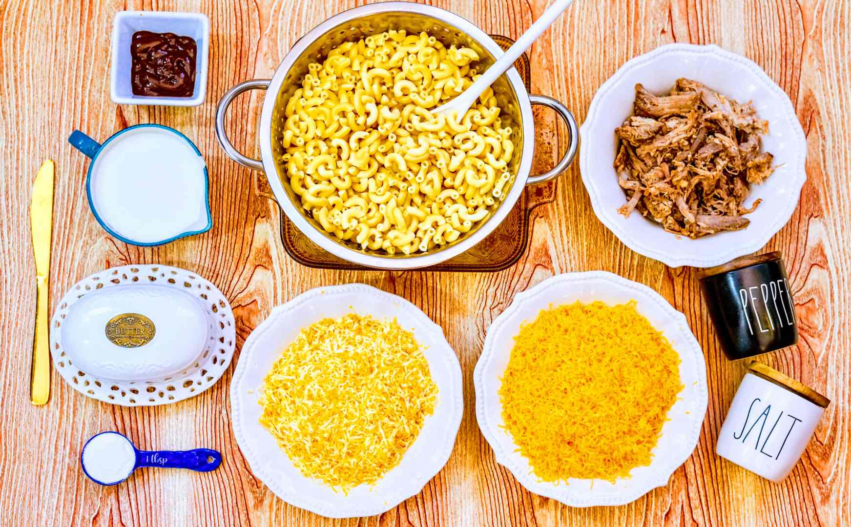 homemade mac and cheese ingredients