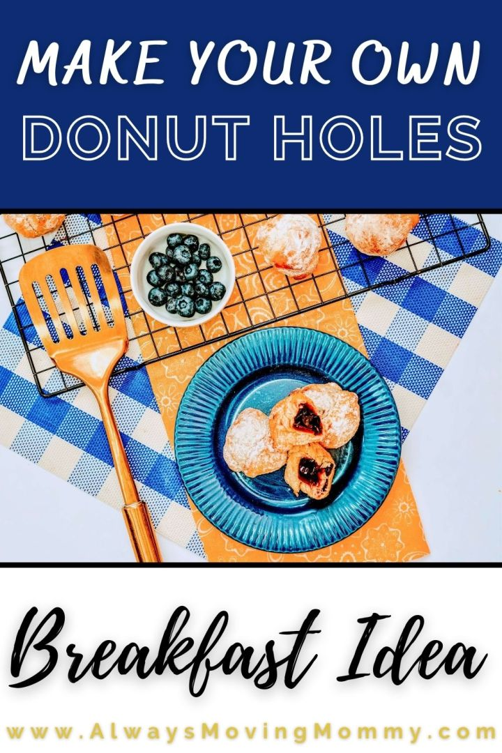 Making your own donut holes at home doesn't have to be hard!